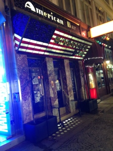 The American Loos bar. Smoky and tiny. We spent less than 5 minutes here.